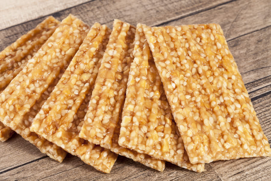 Recipe for Pasteli - Greek Honey and Sesame Candy