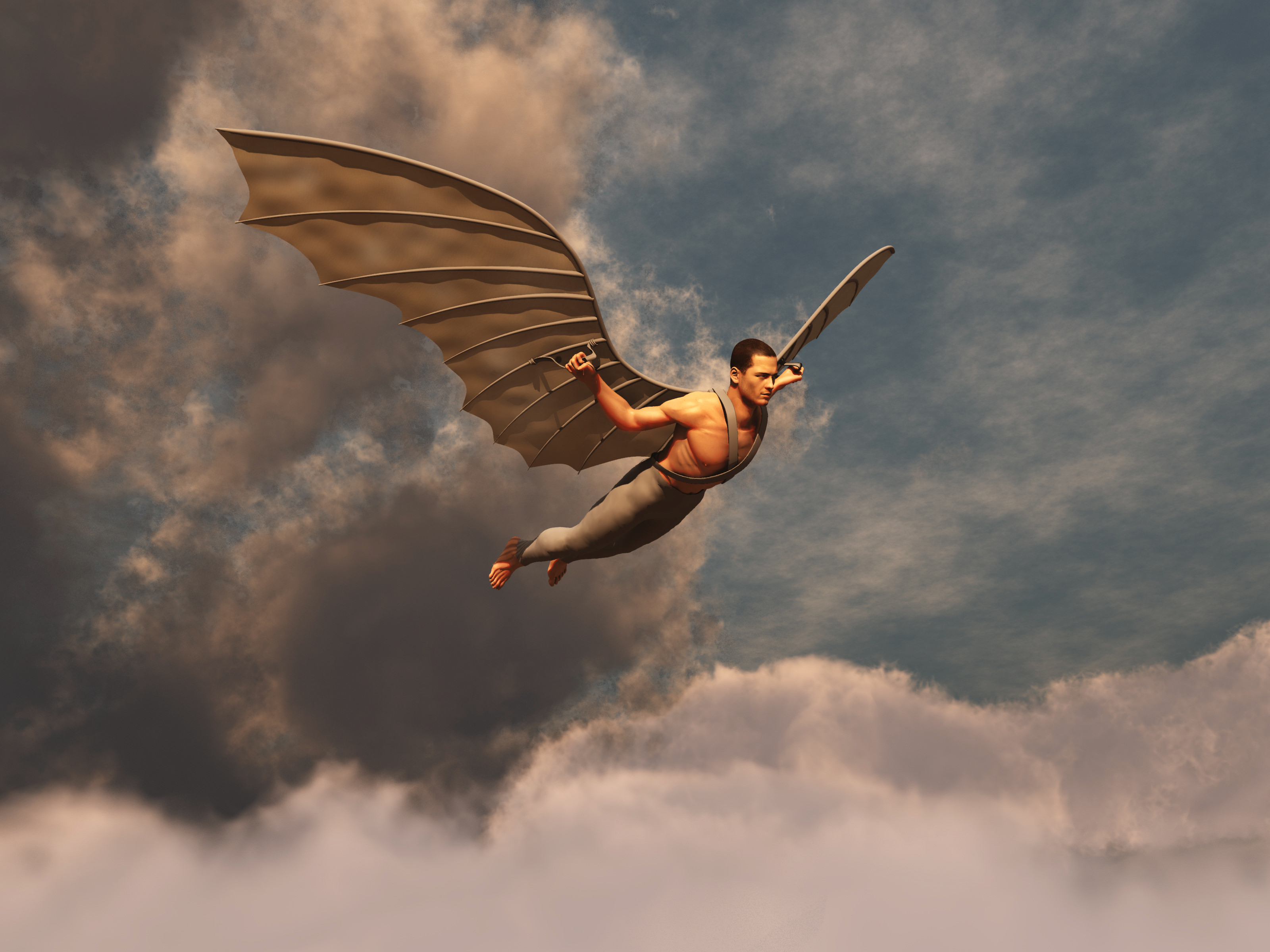 legend of the fall of icarus