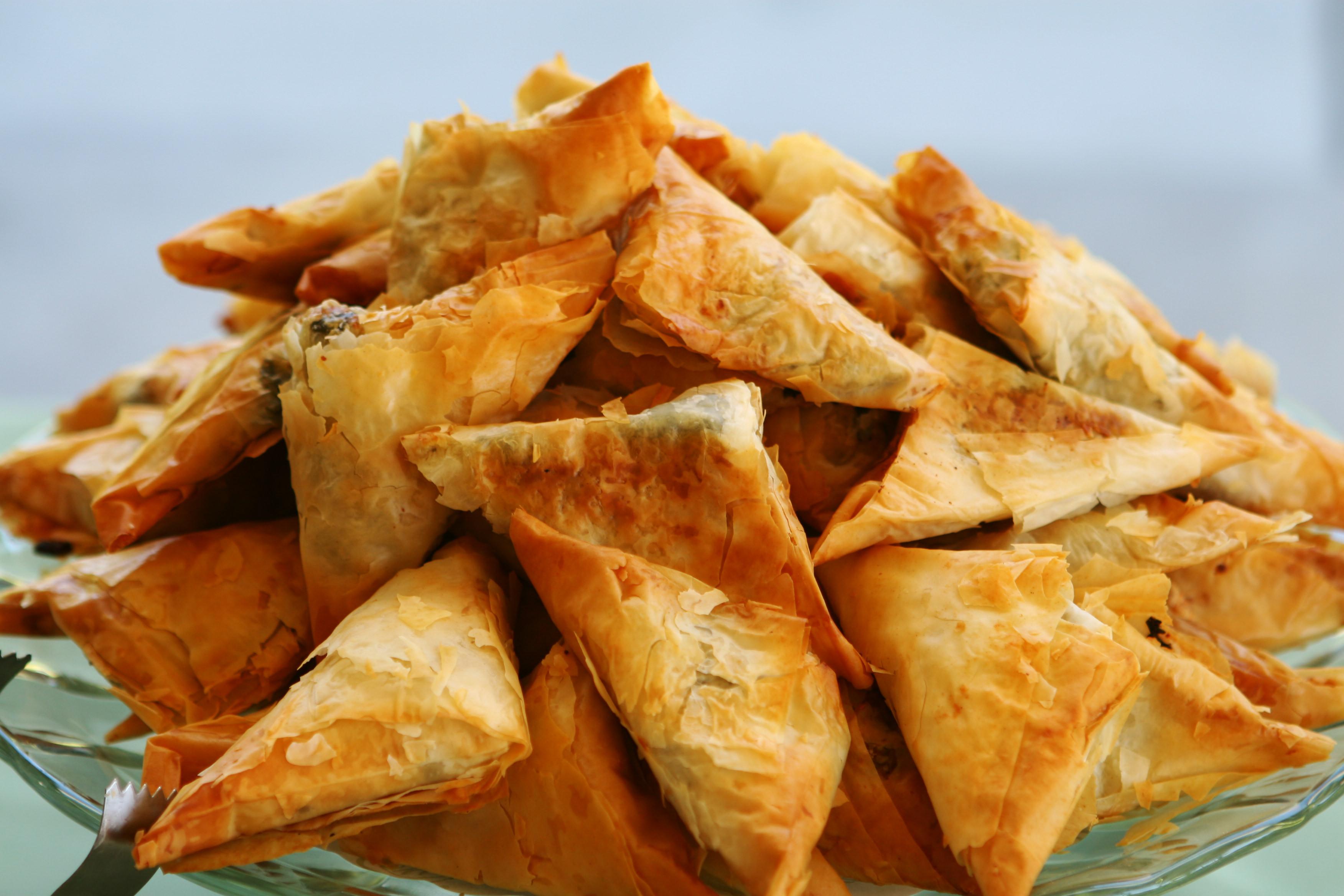 Recipe For Pitarakia Greek Herb Pies