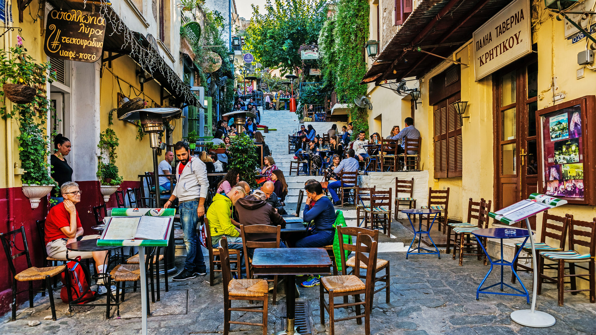 Restaurants To Try At Plaka In Athens Greece
