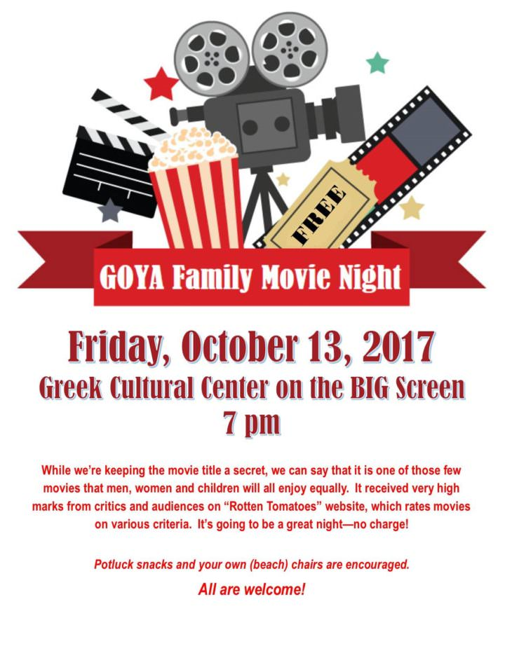 Events archive page 11 of 59 goya family movie night at st george greek cathedral springfield ma stopboris Choice Image