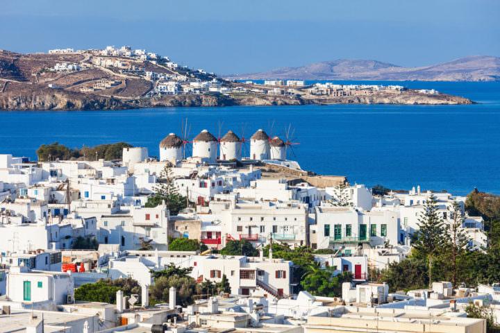 Visit the Open Air Cinema in Mykonos, Greece