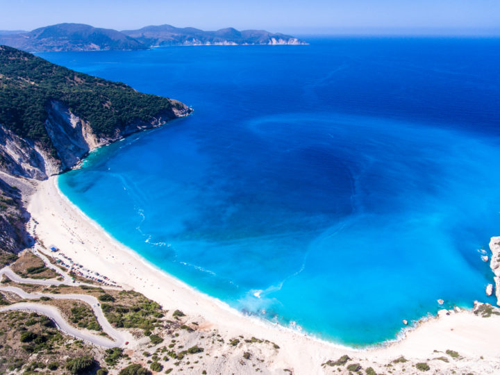 Best Beaches for Families in Kefalonia, Greece