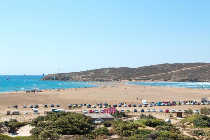 Visit Prassonissi Beach on Rhodes Islands