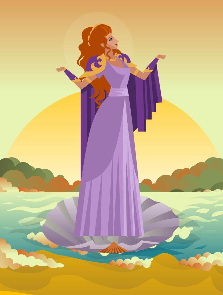 Thalassa – Greek Primordial Goddess of the Sea