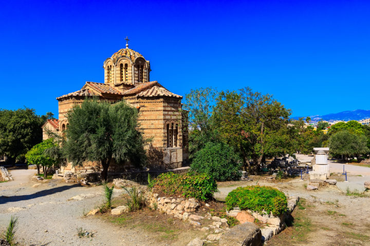 Visit the Church of the Holy Apostles While in Athens
