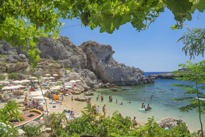 Top Beaches to Visit Near Lindos on Rhodes Island