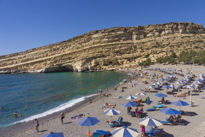 Great Family Beaches on Crete Island