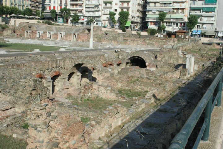 Spend Time at the Roman Market in Thessaloniki