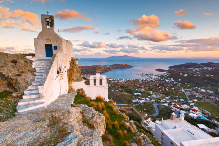 Prominent Attractions and Beaches in Serifos, Greece
