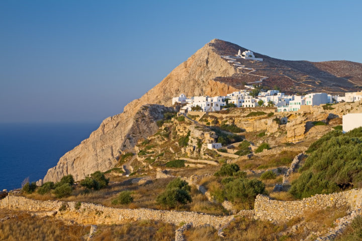 Attractions and Beaches to Enjoy While in Folegandros, Greece