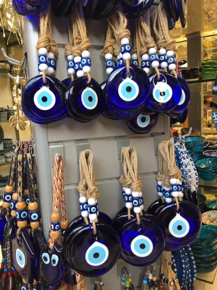 Shopping in Evia, Greece