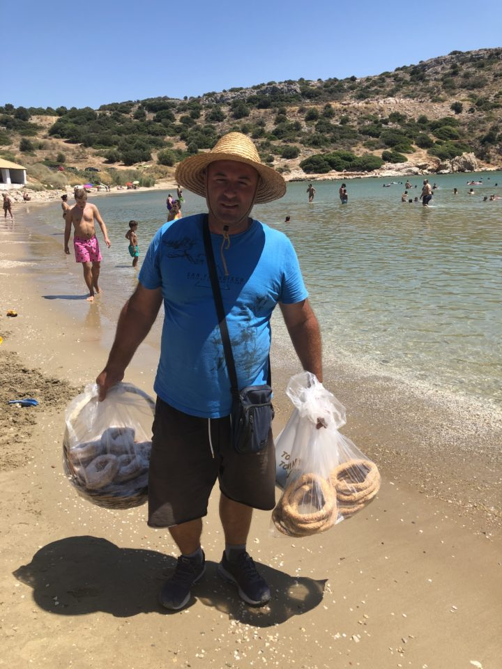 Buy Fresh Loukomades While on Beaches in Greece