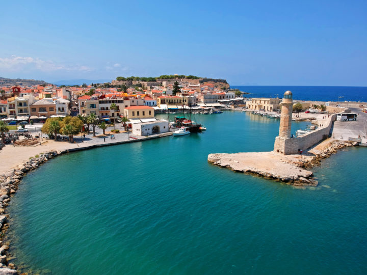 Prominent Beaches and Attractions in Rethymno, Greece