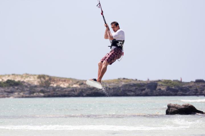 Try Kitesurfing on Crete Island