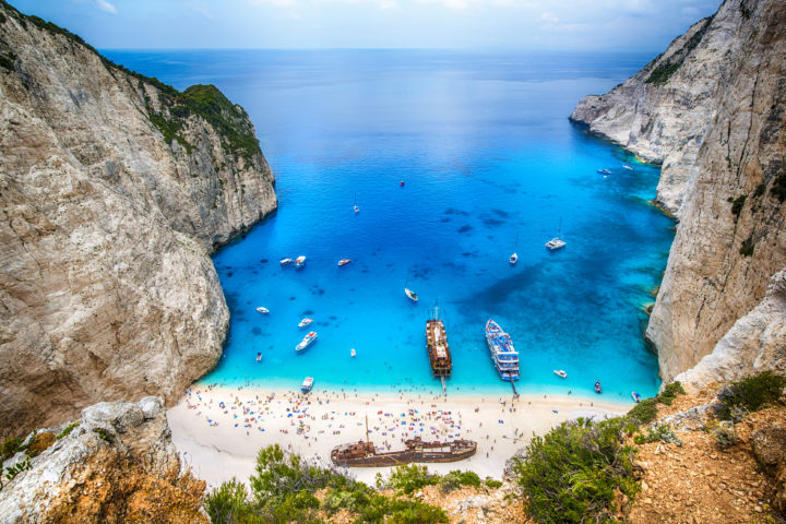 Experience the Blue Caves of Zakynthos