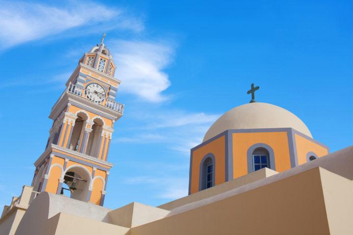 Visit the St. John Catholic Church in Thira Santorini