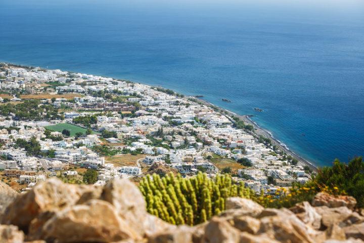 Enjoy the Open Air Cinema of Kamari on Santorini