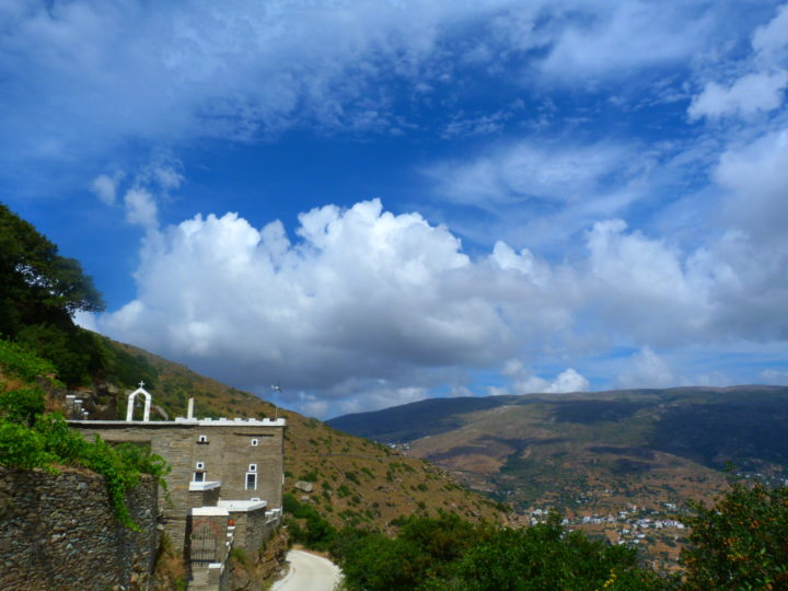 Monasteries to Explore in Andros, Greece