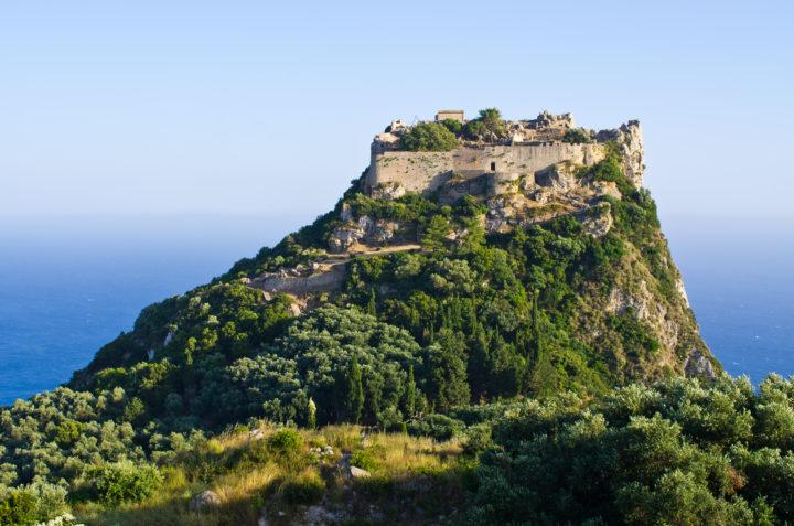 Visit Angelokastro Castle in Corfu