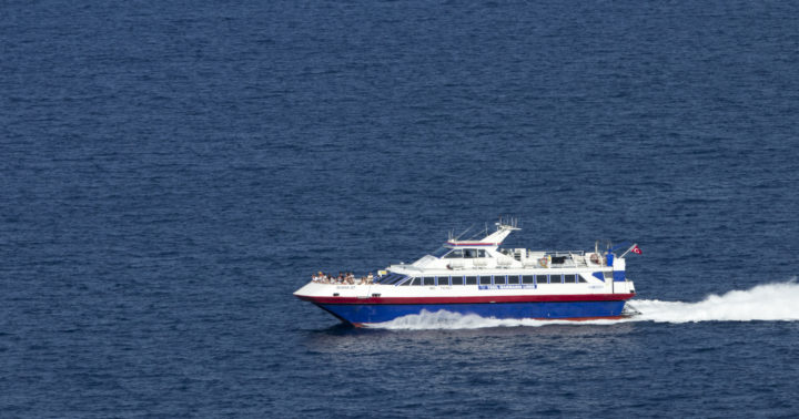 Use the SeaBus on the Island of Mykonos