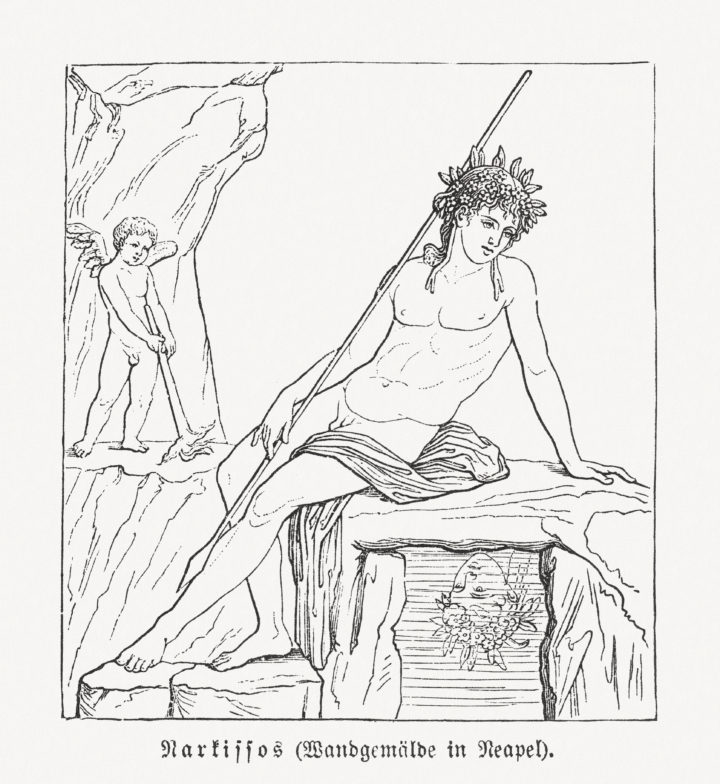 Mythological Story of Narcissus and Echo