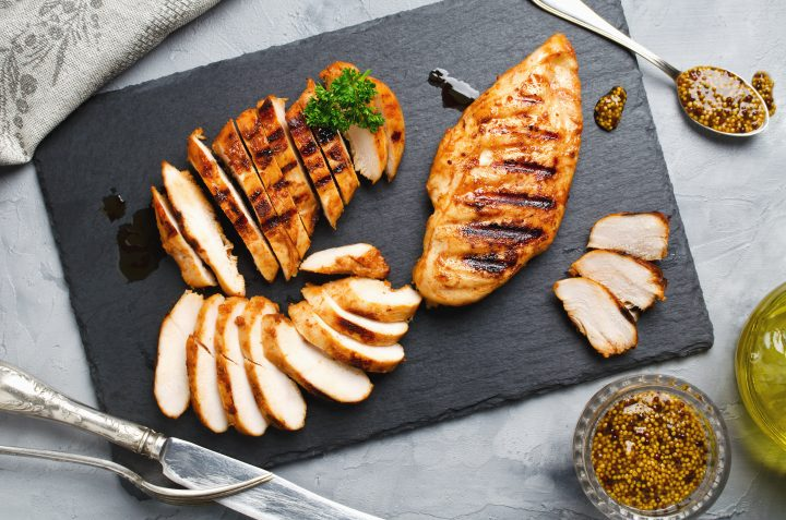 Quick and Easy Greek Inspired Grilled Chicken Breast Recipe