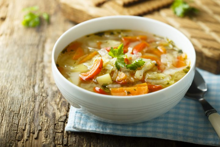 Quick and Easy Greek Inspired Vegetable Soup Recipe
