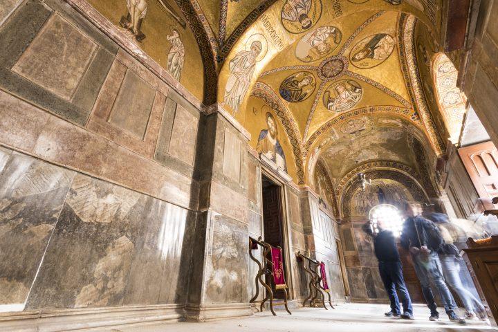 Visit the Monastery of Osios Loukas in Arachova, Greece