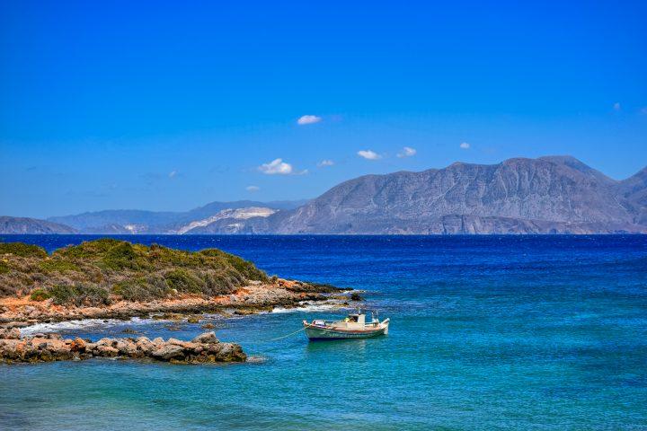 Visit Amoudara Beach on Crete Island