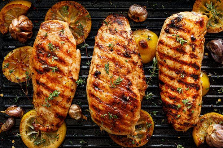 30 Minute Greek Grilled Chicken