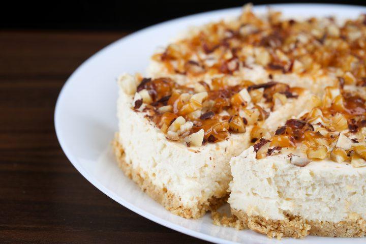 Simple Greek Style Cheesecake