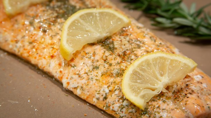Fast Greek Style Lemon Baked Fish