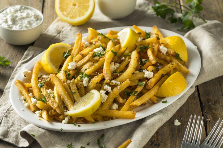Easy Greek Seasoned Fries