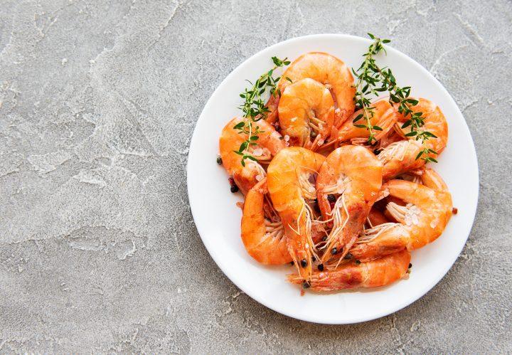Fast Greek Style Shrimp Kabobs