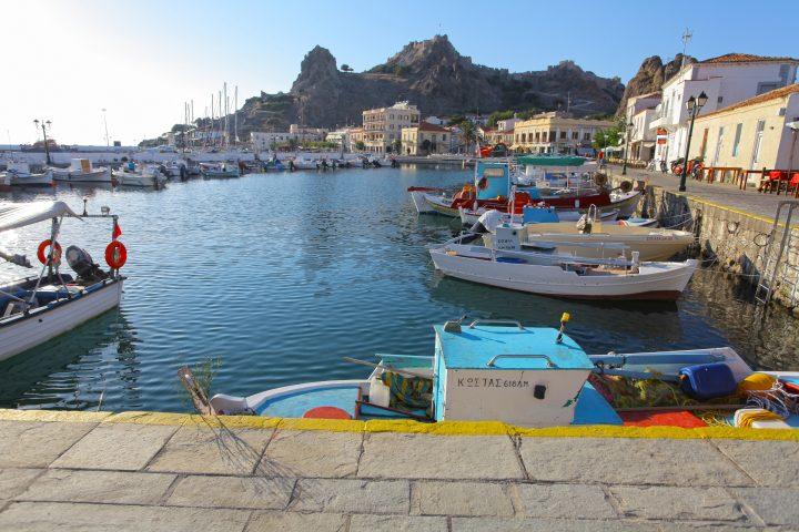Visit Myrina Village on Lemnos Island