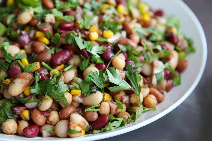 Easy Greek Style Bean Salad