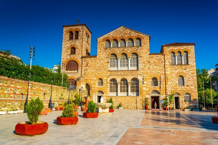 Visit Agios Demetrios Church in Thessaloniki
