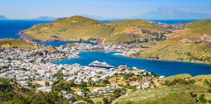 Visit Meloi Beach on Patmos