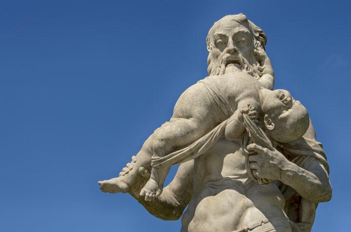 Story of Cronus Versus Uranus in Greek Mythology