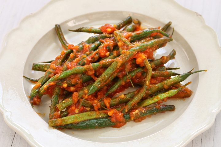 Quick Braised Greek Vegetables in Tomato Sauce